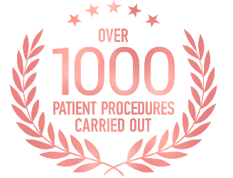 Over 1000 Patient Procedures Carried Out.