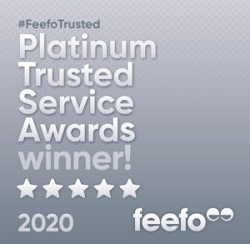 Red Rose Desire wins Feefo Platinum Trusted Service Award 2020